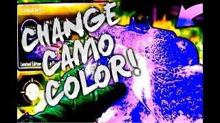 HOW TO CHANGE COLOR OF  THE DRAGON FIRE CAMO!! Easy Tutorial For Black Ops 3 - bo3 tutorial