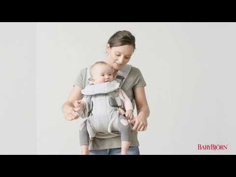 BABYBJÖRN - How to adjust the child's position in Baby Carrier One