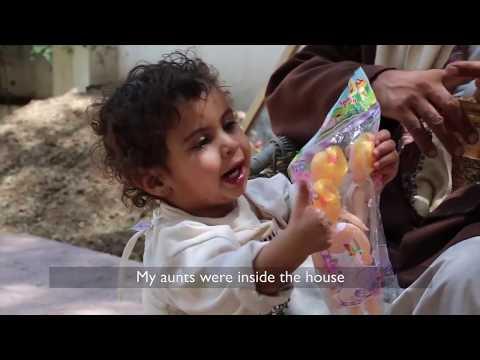 One-year-old survives an airstrike in Yemen
