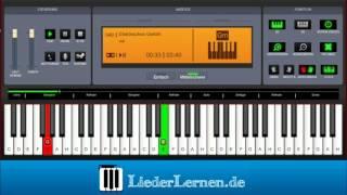 Juli - Elektrisches Gefühl - Klavier lernen - Musiknoten - Akkorde