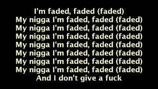 Tyga feat  Lil Wayne   Faded Lyrics On Screen