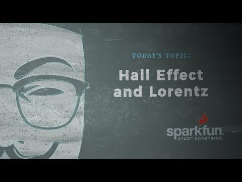 According to Pete #58 - Hall Effect and Lorentz Force