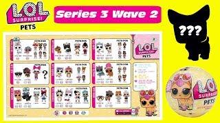 LOL Surprise Pets Series 3 Wave 2 Predictions | LOL Pets Series 3 Wave 2 | #CollectLOL