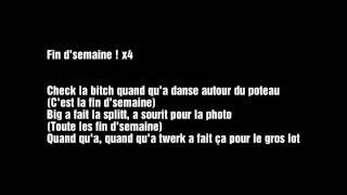 Les Anticipateurs - FINDSEMAINE  (Lyrics)