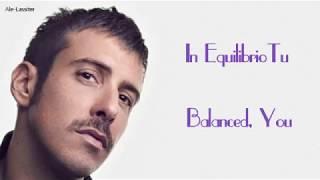 Francesco Gabbani-In Equilibrio Lyrics (Sub Ita/Eng)