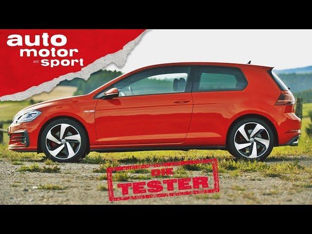 VW Golf GTI: Der Ur-Vater aller Hot Hatches im Test - Die Tester   auto motor und sport