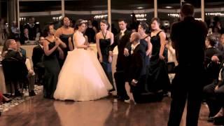 True Love's Kiss Wedding Flash Mob LIVE (Disney's Enchanted)
