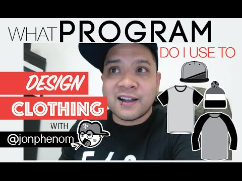 WHAT PROGRAM DO I USE TO DESIGN CLOTHING?