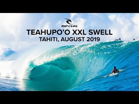 Teaupho'o, Tahiti | XXL Swell August 2019 | Rip Curl