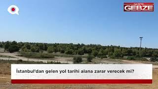 Hünkâr Çayırı'nda yol tehlikesi!