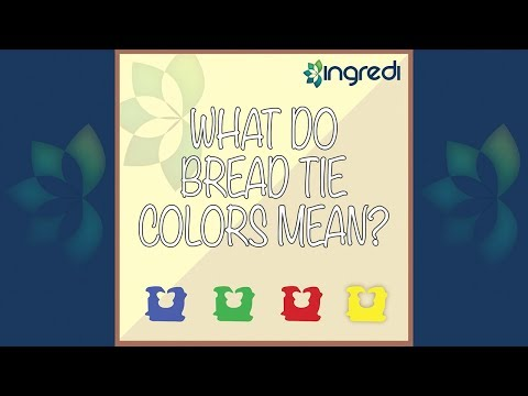 What do bread tie colors mean video