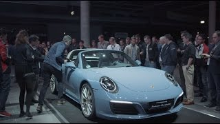 "Porsche Exclusive – the 911 Targa 4S Exclusive Design Edition: ""Everything starts with an idea."""