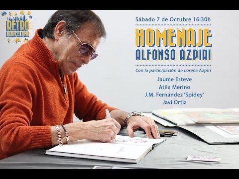 Retro Barcelona 2017, Homenaje Alfonso Azpiri