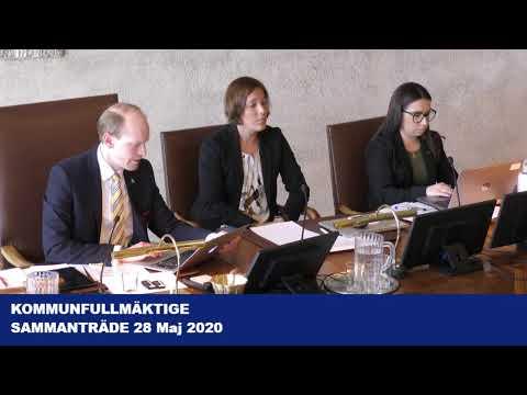 Halmstad kommunfullmäktige 20200528