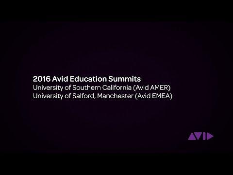 2016 Avid Education Summits