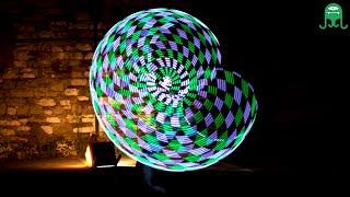HULA HOOP LED - Bambolê de luz - Enlightening - Abigail Russell
