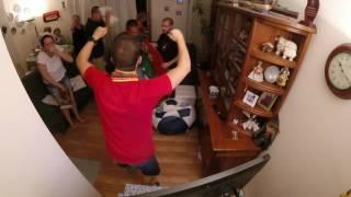 Portuguese Family Celebrating Eder's Goal | Euro 2016 FINAL