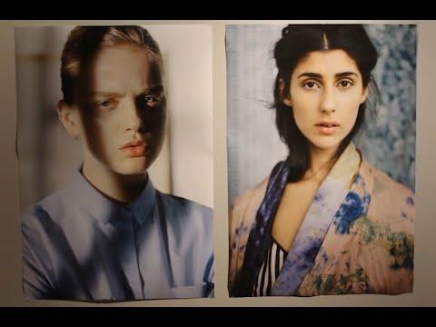 Introduktion av utställningen Möt Blicken (fotograf Emilia Bergmark Jiménez)