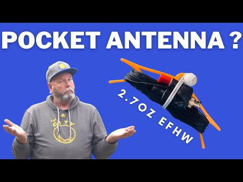 How to make a 2.7oz End Fed Half Wave (EFHW) Antenna for Ham Radio in 30 minutes or less!