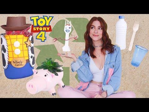 """DIY """"Do Lixo ao Luxo"""" Toy Story 4#Decor"""