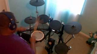 Bishop T.D Jakes Presents Woman Thou Art Loosed Worship 2002 - Be Glorified (Drum Cover)