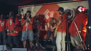Interview met Hot 8 Brass Band @ North Sea Jazz 2016 | NPO Radio 2