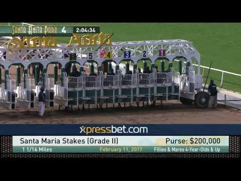 Santa Maria Stakes (Gr. II) - February 11, 2017
