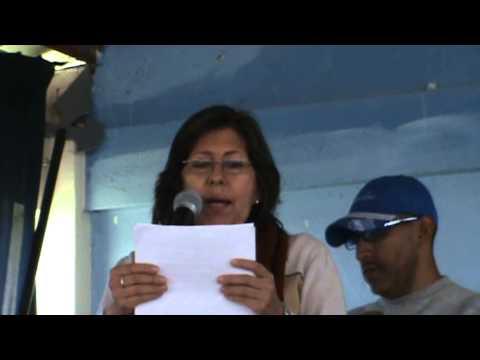 SISID: Intervención de la Psicóloga Maria Dolores Cabrera – FLOM en la Navidad 2011