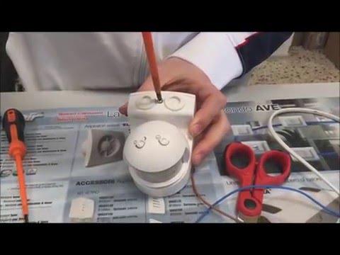 Plafoniera Sensore Di Movimento : Come installare un sensore di movimento tutto per casa