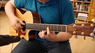 Deus Ex Title Theme (Acoustic Guitar Cover)