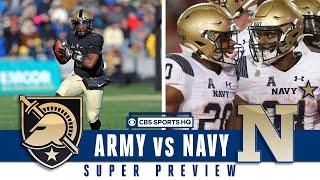 SUPER PREVIEW: Army vs Navy | CBS Sports HQ