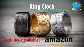 Ring clock! Now exclusively available @ amazone   new Trend & Style