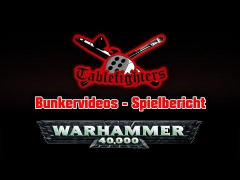 Bunkervideos - Genestealer vs. Dark Angels 7th Edition