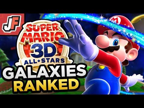 Ranking EVERY Galaxy in Super Mario Galaxy   Worst to Best (Super Mario 3D All Stars)