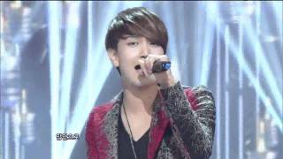 Axiz - Give me a hug (엑시즈-날안아줘) @SBS Inkigayo 인기가요 20120101