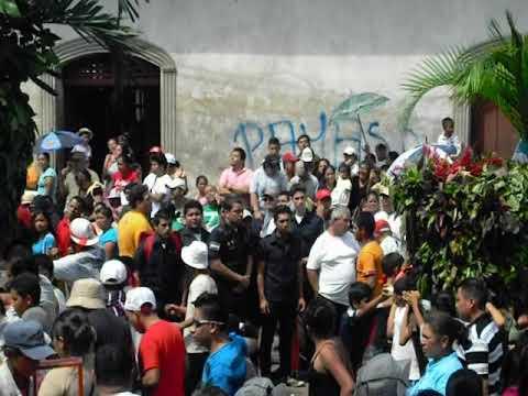 Procesión de San Jerónimo, Masaya Nicaragua.  En la Octava