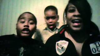 THE LION SLEEPS TONIGHT-BY THE TOKENS ft. DJ LADY KD & THE KIDS
