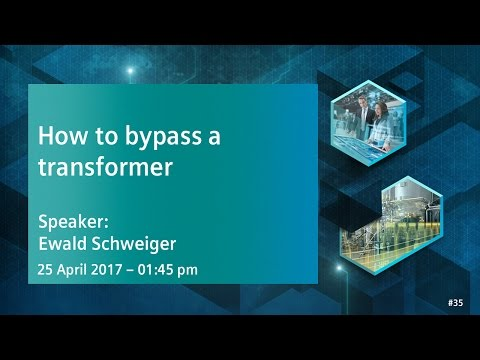 How to bypass a transformer | 25 April 2017 - 1:45 pm