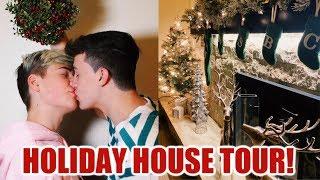HOLLIDAY HOUSE TOUR! Jake Warden!