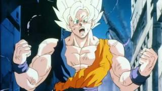 Dragon Ball Z SSJ Goku's Ultimate Kamehameha Against LSSJ Broly (Remastered) [1080p HD)