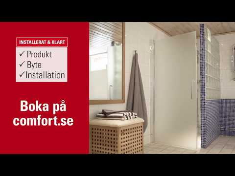 Installera din nya duschvägg - så här går det till