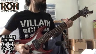 "Marty Scurll ""One True Villain"" ROH theme guitar cover (ROCK MIX)"