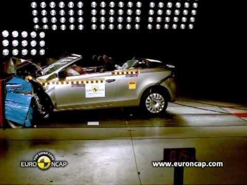 Volkswagen Golf Cabriolet w teście zderzeniowym Euro NCAP