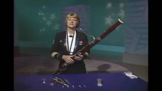 playing the bassoon