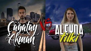 Çağatay Akman Vs Aleyna Tilki | Destansı Rap Savaşları | DRS