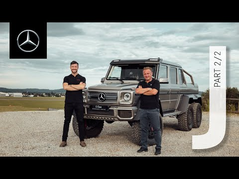 INSIDE AMG – Journey (2/2) | G-Class Experience Center in Graz