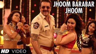 POLICEGIRI JHOOM BARABAR JHOOM VIDEO SONG | SANJAY DUTT, PRACHI DESAI width=