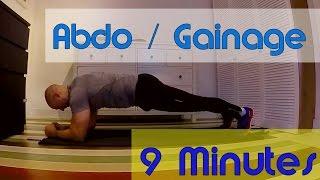 Abdo/gainage/ventre plat pour tous en 9 min