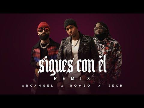 Sigues Con Él (Remix) (Video Official)
