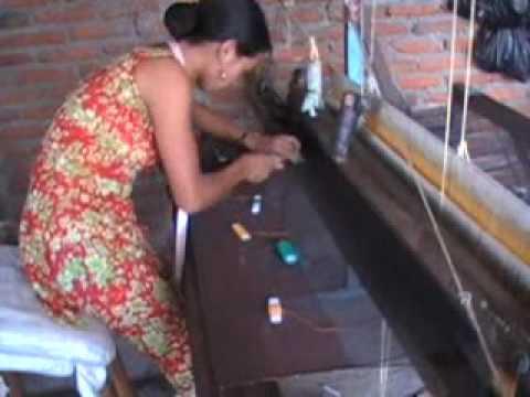 Sabina Subba Limbu weaving design